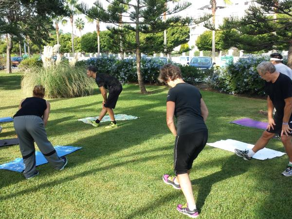 Fitness holiday in Spain, small group