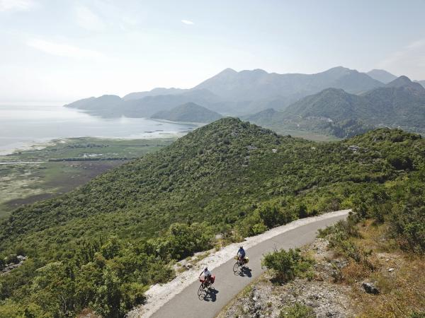 Self guided cycling holiday in Montenegro and Albania