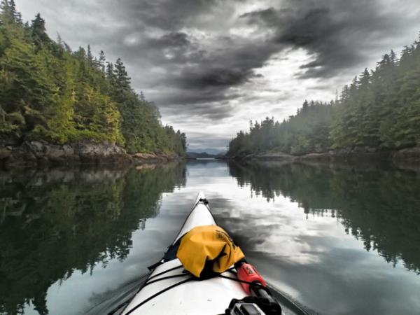 Johnstone Strait kayaking expedition in Canada