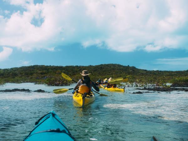 Exuma Cays kayaking holiday in The Bahamas