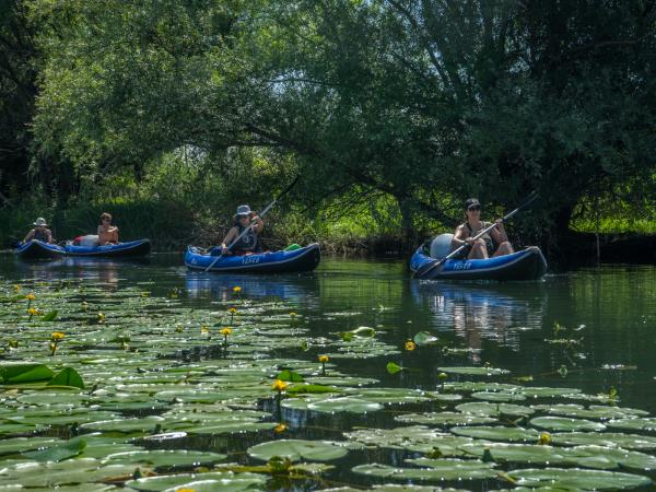 Canoeing and kayaking holiday in Montenegro, Lake Skadar