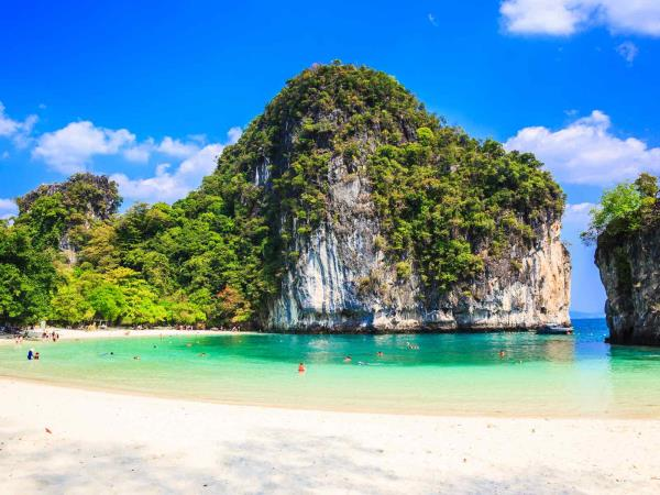Thailand culture and beach holiday