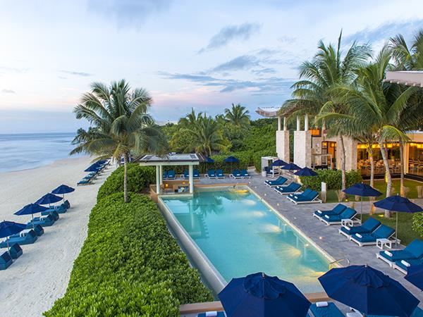 Playa del Carmen luxury resort in Mexico