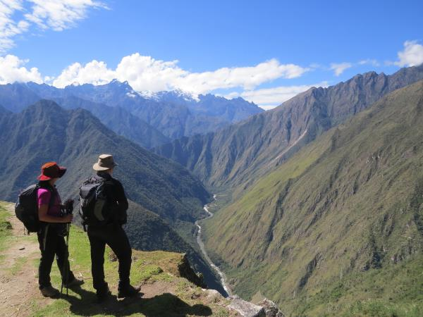 Inca Trail trekking holiday in Peru