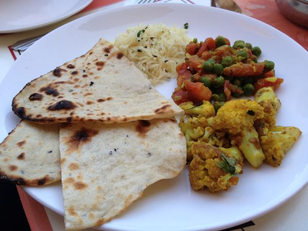 Vegan holiday in India