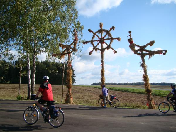 Eastern Europe cycling tour, Lithuania to Poland