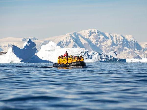 New Year in Antarctica holiday