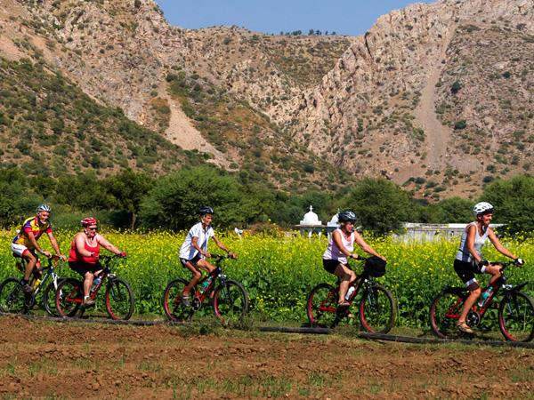 Rajasthan cycling holiday with Taj and tigers