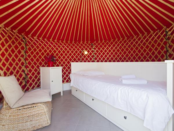 Family eco yurt in Lanzarote