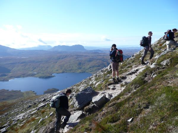 Hiking holidays in Scotland