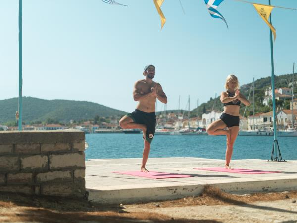 Yoga and sailing retreat in Greece