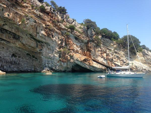 Learn to sail on a flotilla in Greece