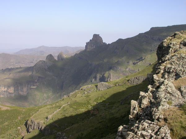 Trekking in Ethiopia on Mount Abuna Yosef