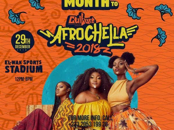 Afrochella festival holiday in West Africa