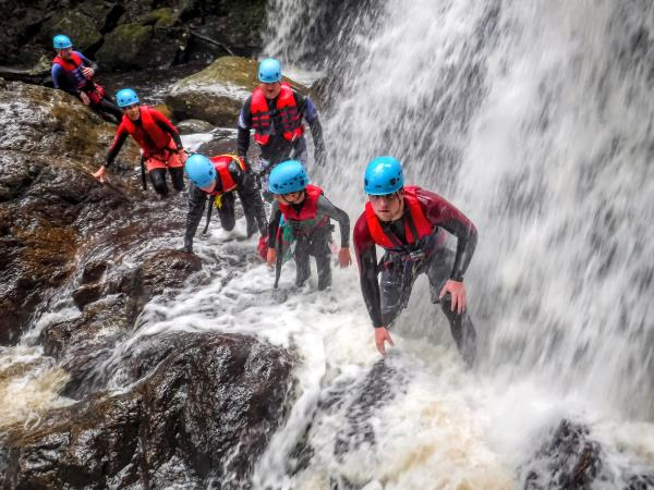 Snowdonia activity holiday in Wales