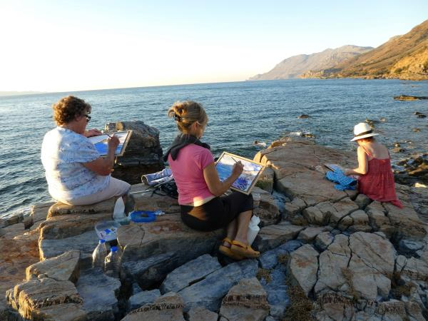 Painting Holiday in Crete