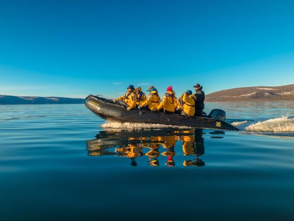 Canada and Greenland western Arctic cruise