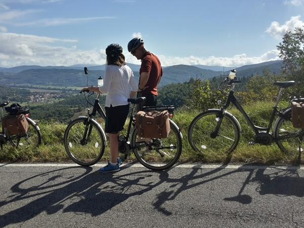 E-Bike cycling holiday in Umbria and Tuscany