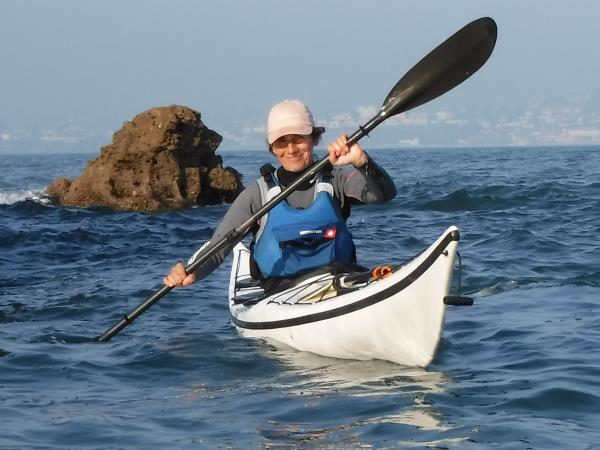 Weekend sea kayaking holiday in Devon