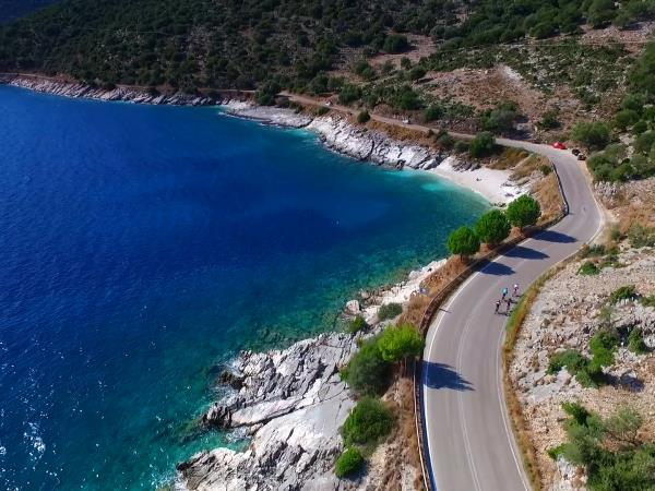 Kefalonia cycling tour, autumn