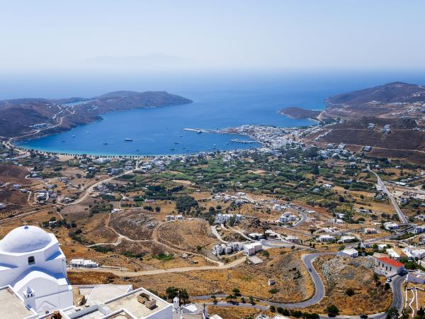 Cyclades islands sailing holidays in Greece