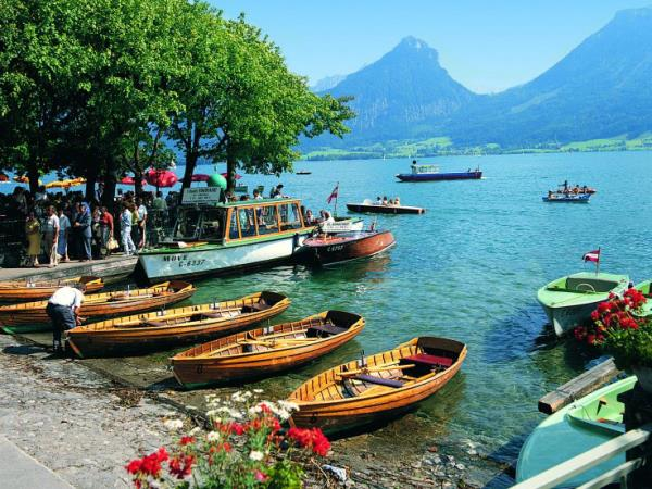 Austrian lakes activity holiday