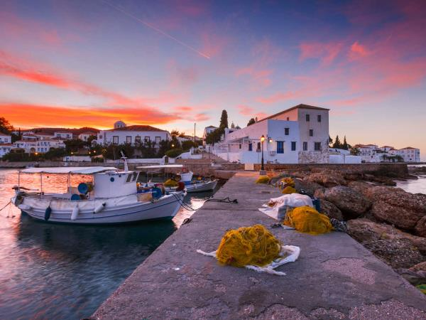 Saronic Gulf small group sailing holiday in Greece