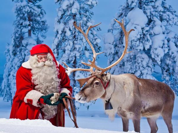 Weekend break in Lapland with santa