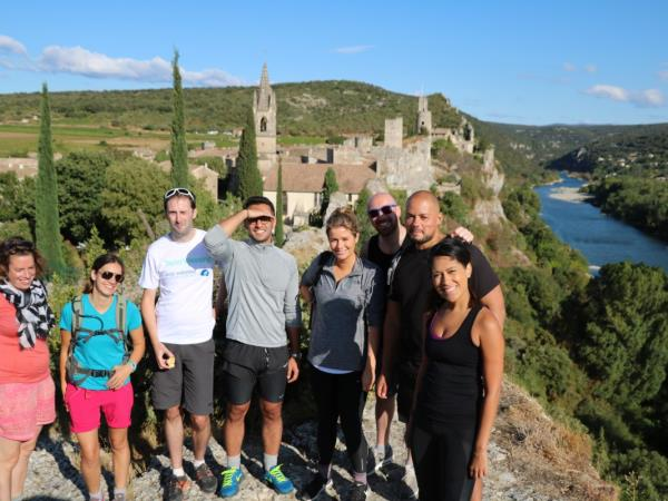 Hiking in the Ardeche, France