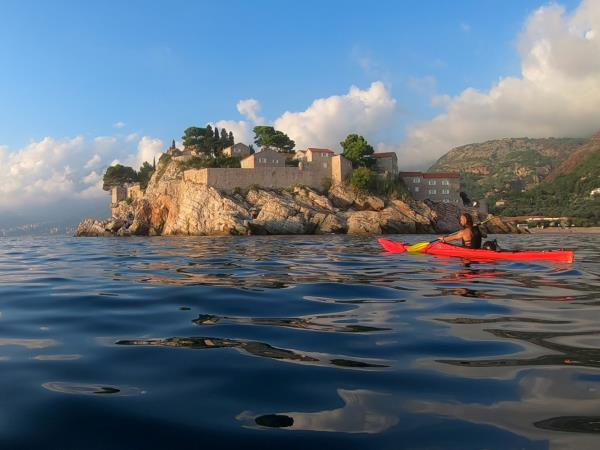 Montenegro kayaking holiday
