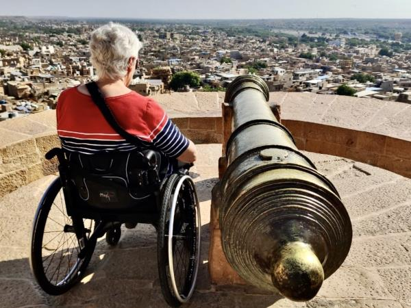 Accessible Rajasthan tour in India