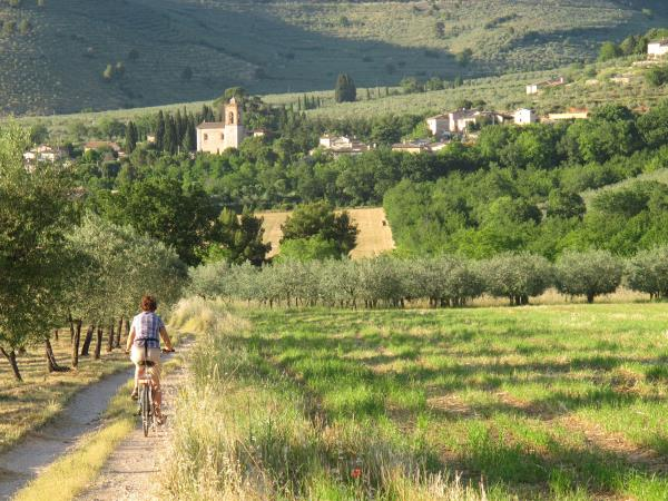 Umbria cycling holiday