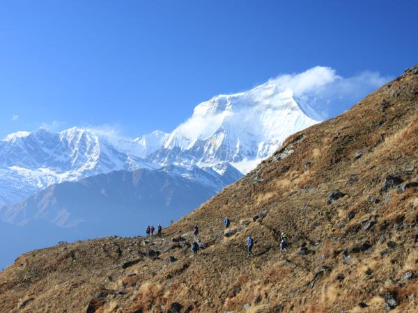 Nepal treks for Over 55s, Annapurna Dhaulagiri