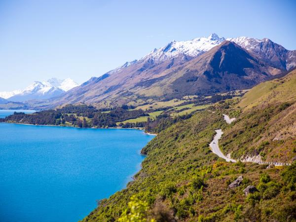 New Zealand South Island self drive tour, Lakes & Alps