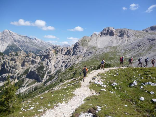 Dolomites guided walking holiday in Italy