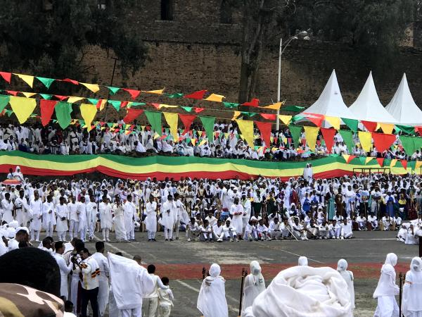 Timkat Festival in Ethiopia holiday