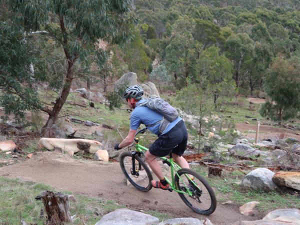 Mountain biking tour in Victoria