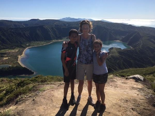 Azores family holiday, whale watching and walking