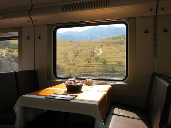 London to Georgia by train holiday
