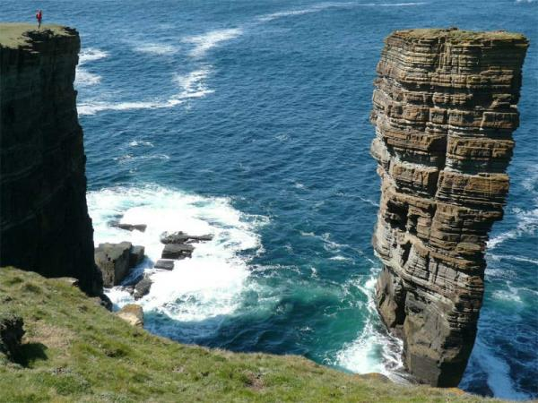 Orkney Isles walking holiday, small group