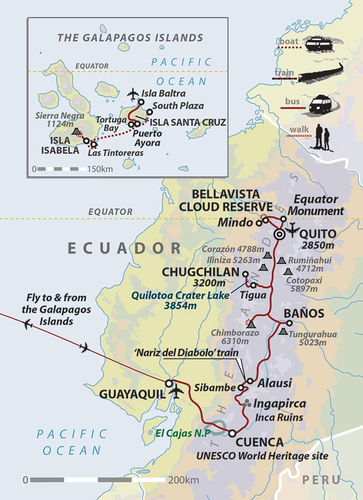 Ecuador holiday Darwins Ecuador Helping Dreamers Do