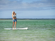 Paddle Boarding in Eyre, South Australia. Photo by South Australia Tourist Board