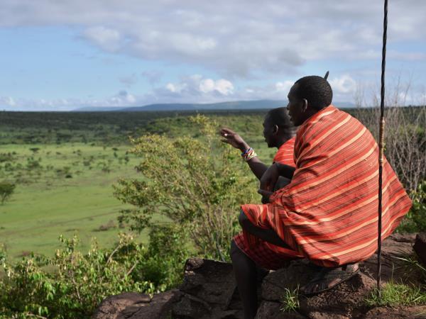 Kenya walking safari in the Masai Mara