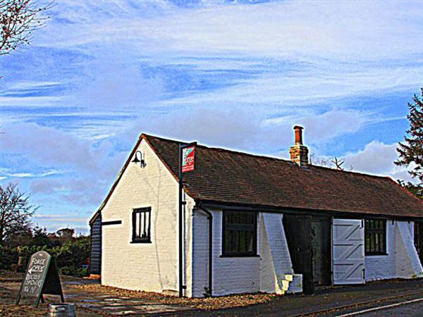 Slindon Forge community shop & cafe, South Downs, England
