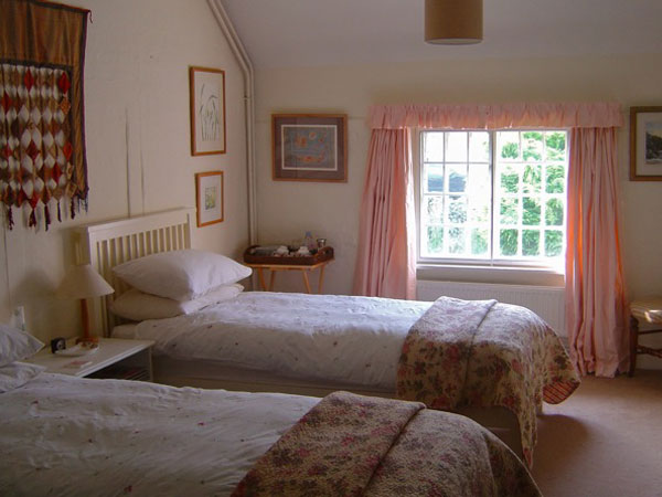 Piddinghoe bed and breakfast, South Downs, England