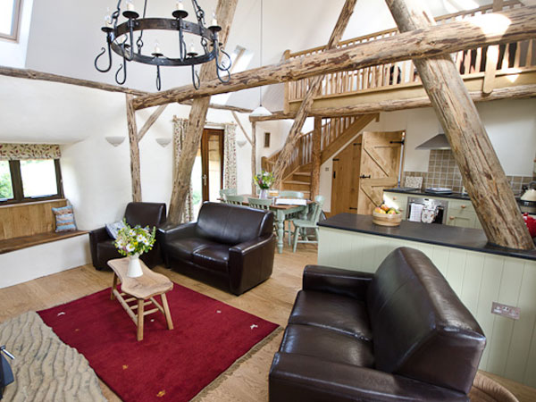 South Downs eco self catering cottage, England