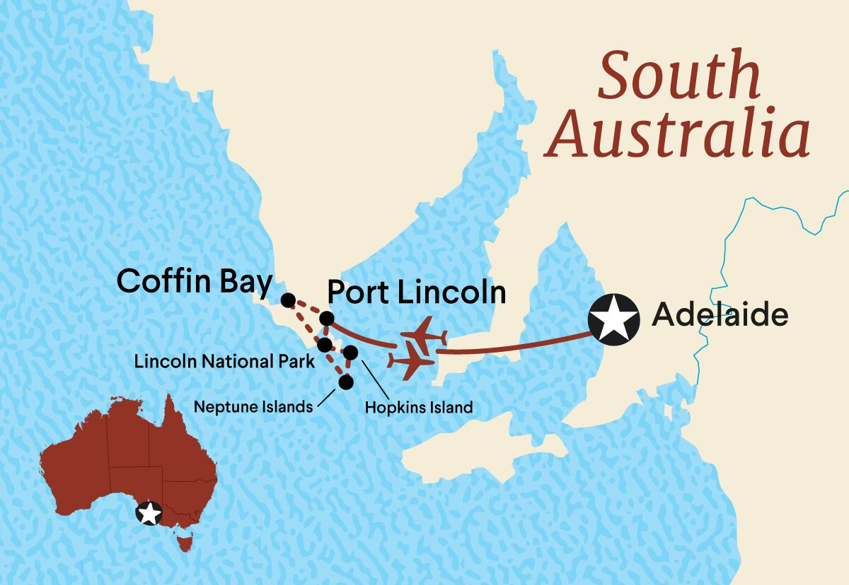 3 Day Tour Of Port Lincoln And Coffin Bay Australia