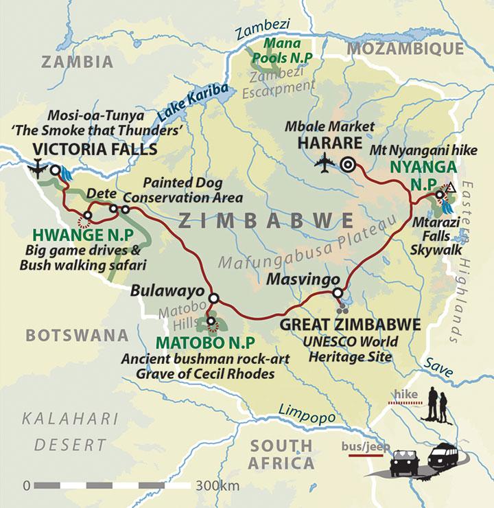 Great Zimbabwe World Map.Zimbabwe Small Group Tour Helping Dreamers Do