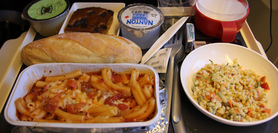 In-flight-meal