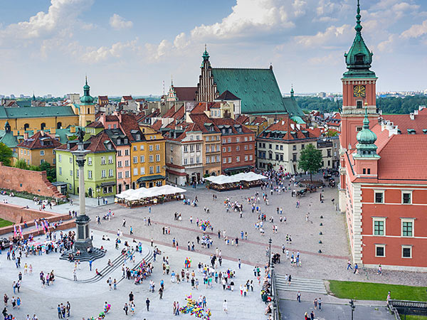 Poland holiday, small group tour